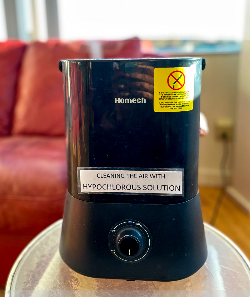 Hypochlorous dispenser